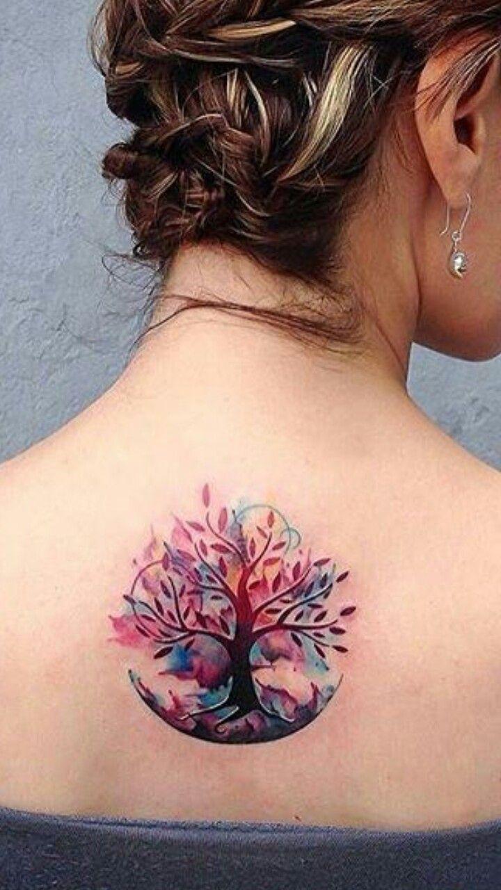 Family Tree Tattoo With Names (210)