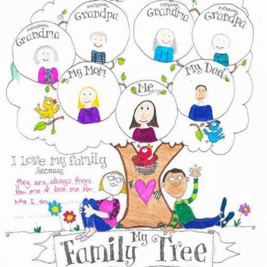 Family Tree Tattoo With Names (238)