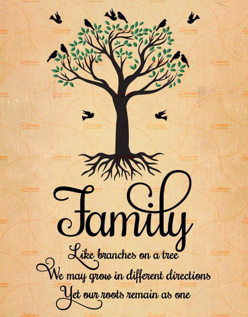 Family Tree Tattoo With Names (241)
