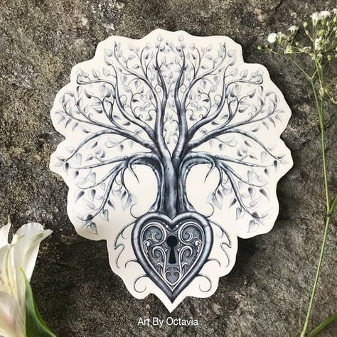 Family Tree Tattoo With Names (246)