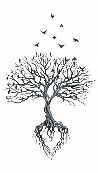 Family Tree Tattoo With Names (57)