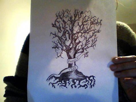 Family Tree Tattoo With Names (59)