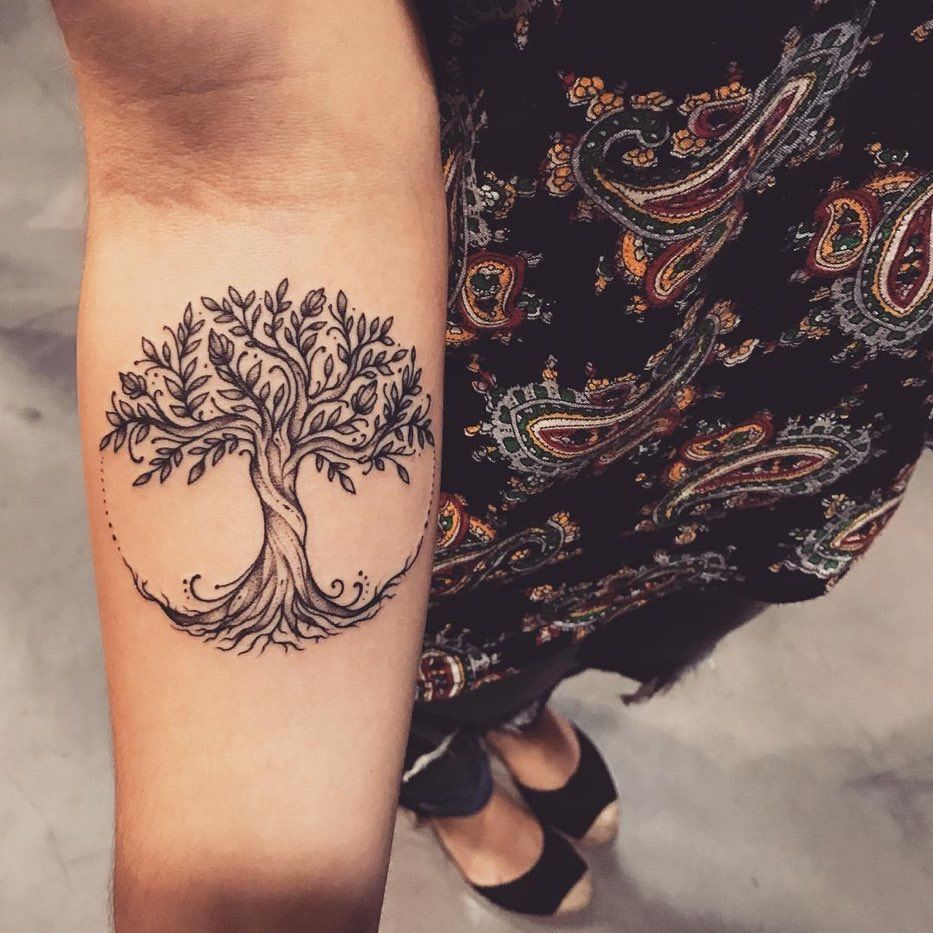 Family Tree Tattoo With Names (62)