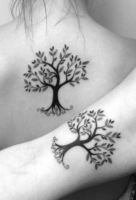 Family Tree Tattoo With Names (68)