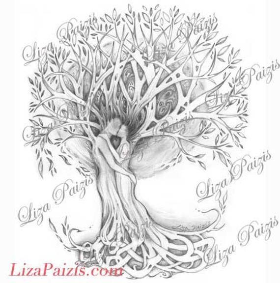 Family Tree Tattoo With Names (7)