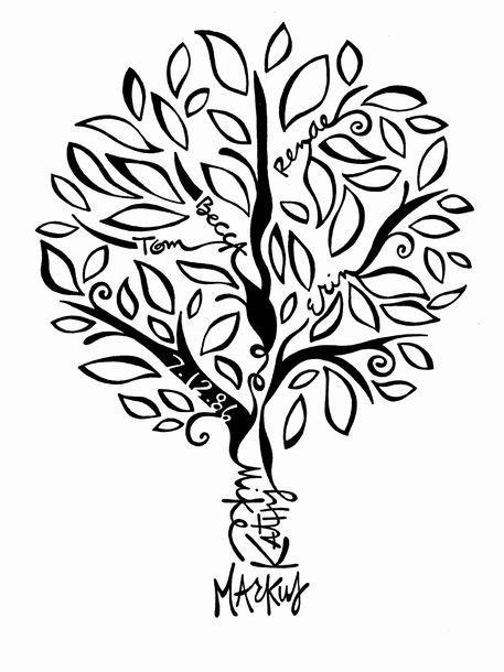 Family Tree Tattoo With Names (73)