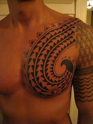 Female Chest Tattoo Pictures Ideas (162)