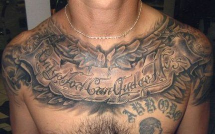 Female Chest Tattoo Pictures Ideas (215)