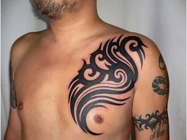 Female Chest Tattoo Pictures Ideas (29)