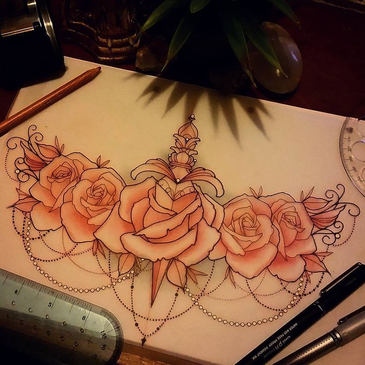 Female Chest Tattoo Pictures Ideas (38)