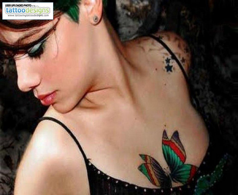 Female Chest Tattoo Pictures Ideas (39)