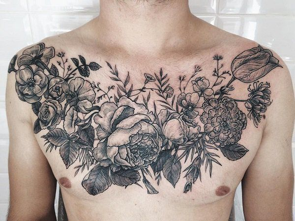 Female Chest Tattoo Pictures Ideas (56)