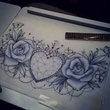 Female Chest Tattoo Pictures Ideas (62)