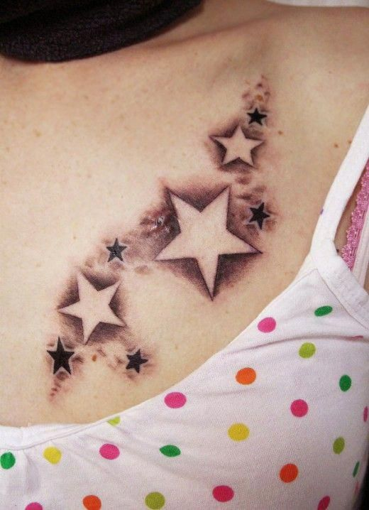 Female Chest Tattoo Pictures Ideas (94)