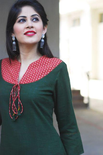 Latest Churidar Neck Models Salwar Patterns (101)