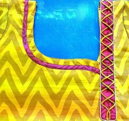 Latest Churidar Neck Models Salwar Patterns (102)