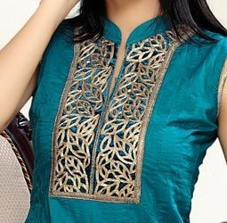 Latest Churidar Neck Models Salwar Patterns (105)