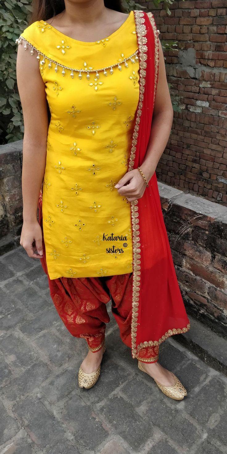 Latest Churidar Neck Models Salwar Patterns (106)
