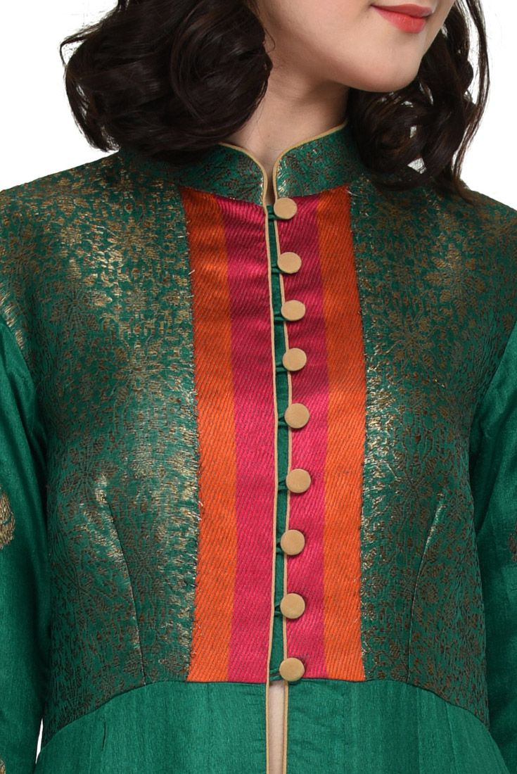 Latest Churidar Neck Models Salwar Patterns (122)
