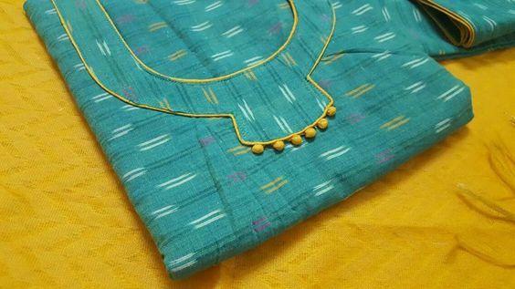 Latest Churidar Neck Models Salwar Patterns (127)