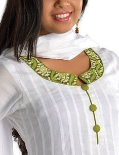Latest Churidar Neck Models Salwar Patterns (129)