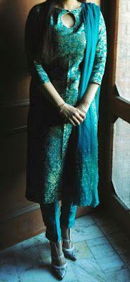 Latest Churidar Neck Models Salwar Patterns (13)