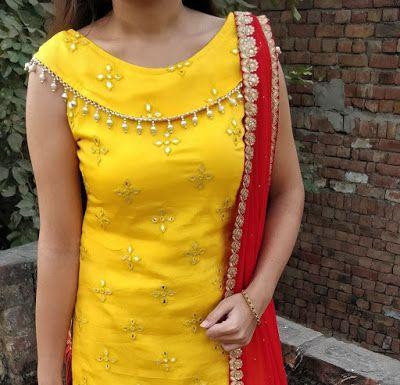 Latest Churidar Neck Models Salwar Patterns (136)