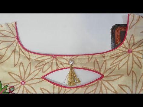 Latest Churidar Neck Models Salwar Patterns (142)