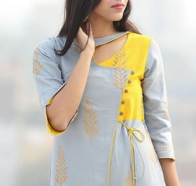 Latest Churidar Neck Models Salwar Patterns (144)