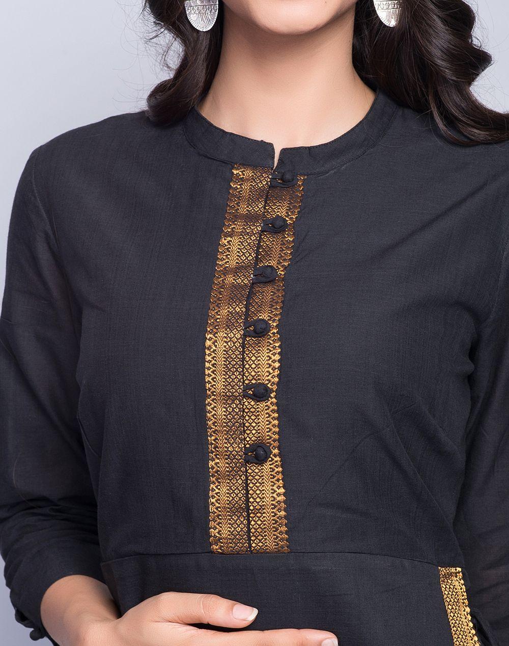 Latest Churidar Neck Models Salwar Patterns (146)