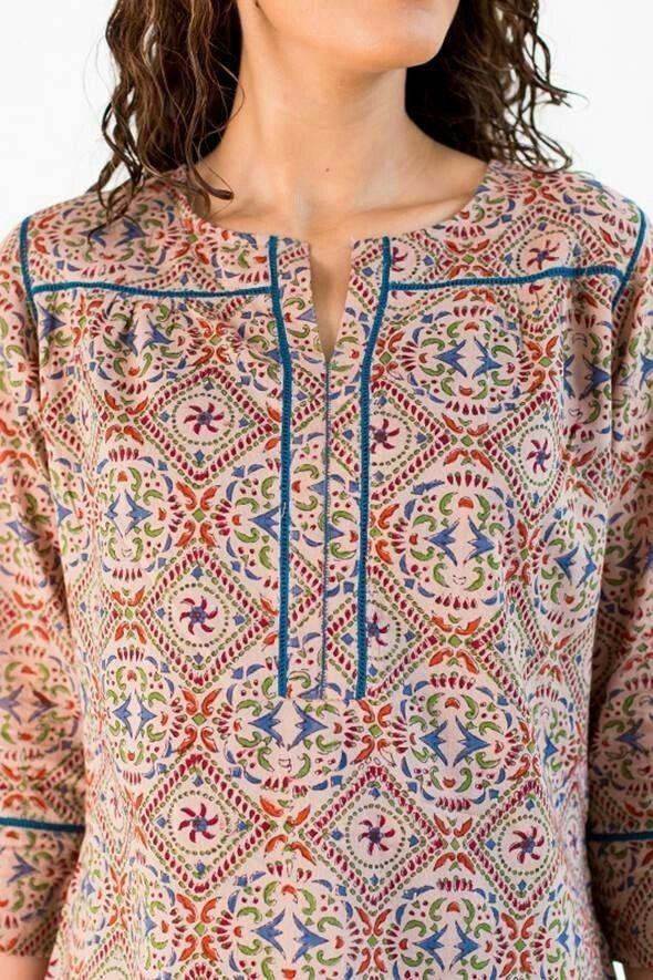 Latest Churidar Neck Models Salwar Patterns (157)