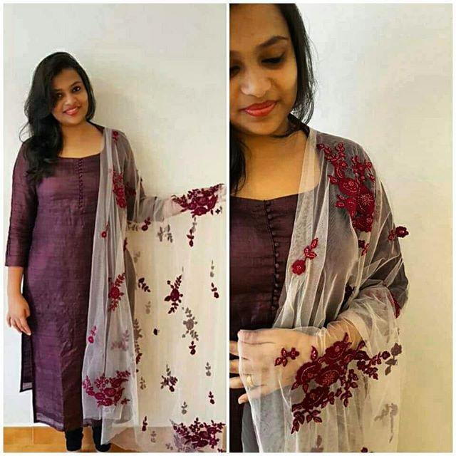 Latest Churidar Neck Models Salwar Patterns (16)
