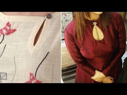 Latest Churidar Neck Models Salwar Patterns (17)