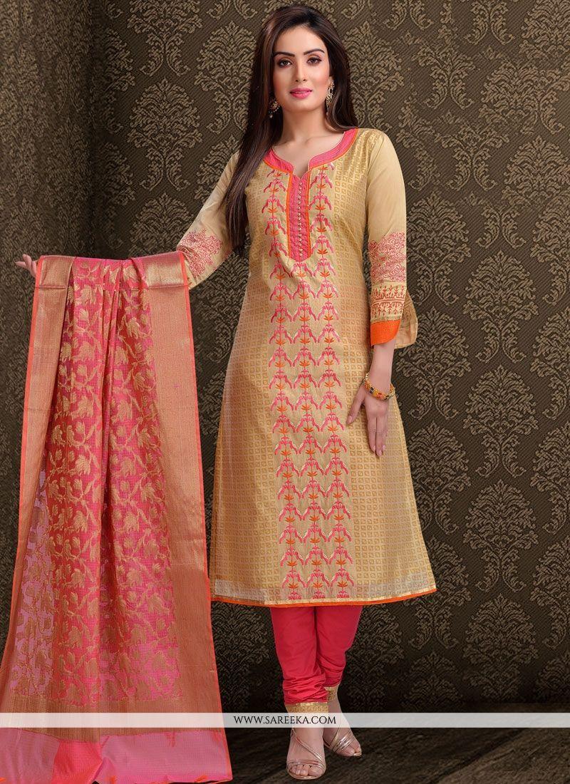 Latest Churidar Neck Models Salwar Patterns (185)