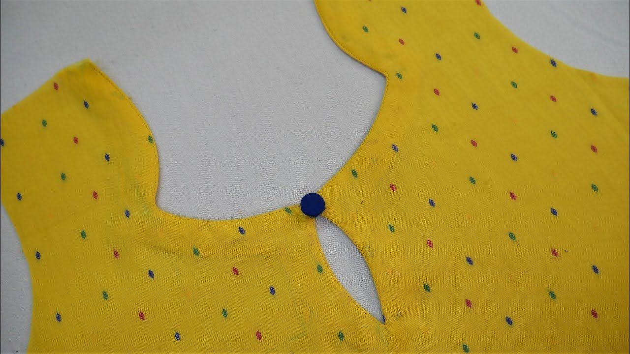 Latest Churidar Neck Models Salwar Patterns (19)