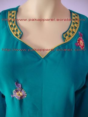 Latest Churidar Neck Models Salwar Patterns (190)