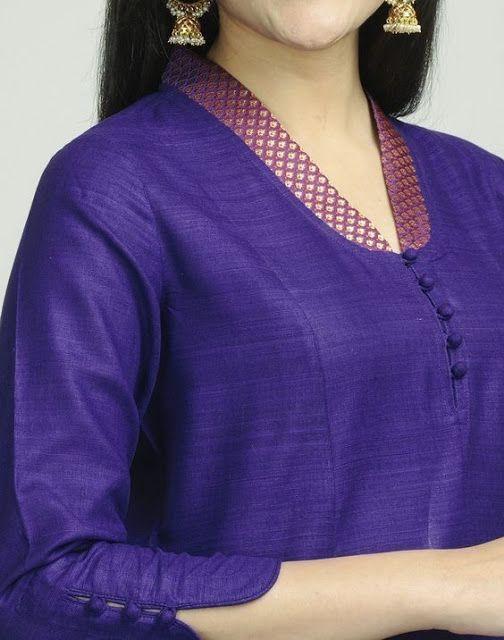 Latest Churidar Neck Models Salwar Patterns (196)