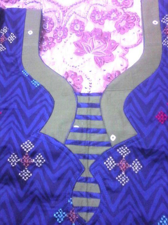 Latest Churidar Neck Models Salwar Patterns (198)