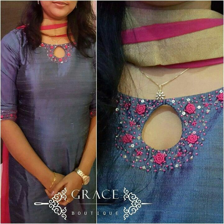 Latest Churidar Neck Models Salwar Patterns (203)