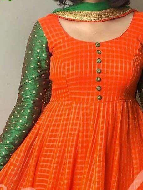 Latest Churidar Neck Models Salwar Patterns (205)