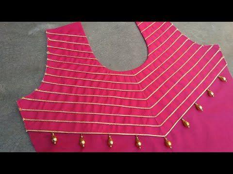 Latest Churidar Neck Models Salwar Patterns (210)
