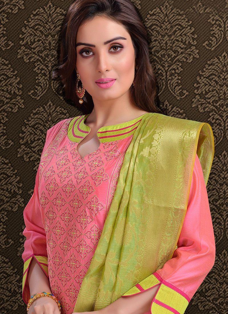 Latest Churidar Neck Models Salwar Patterns (212)