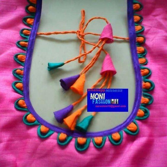 Latest Churidar Neck Models Salwar Patterns (213)