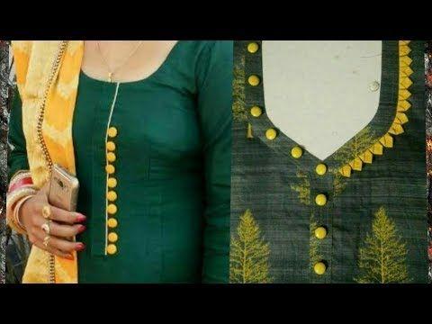 Latest Churidar Neck Models Salwar Patterns (217)