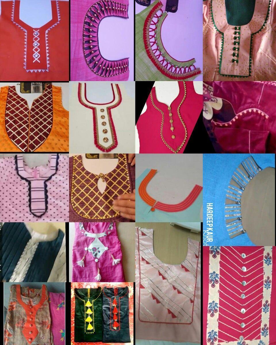 Latest Churidar Neck Models Salwar Patterns (225)