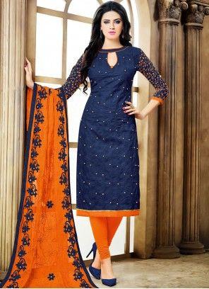 Latest Churidar Neck Models Salwar Patterns (226)