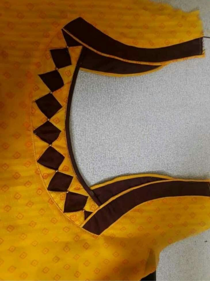 Latest Churidar Neck Models Salwar Patterns (227)