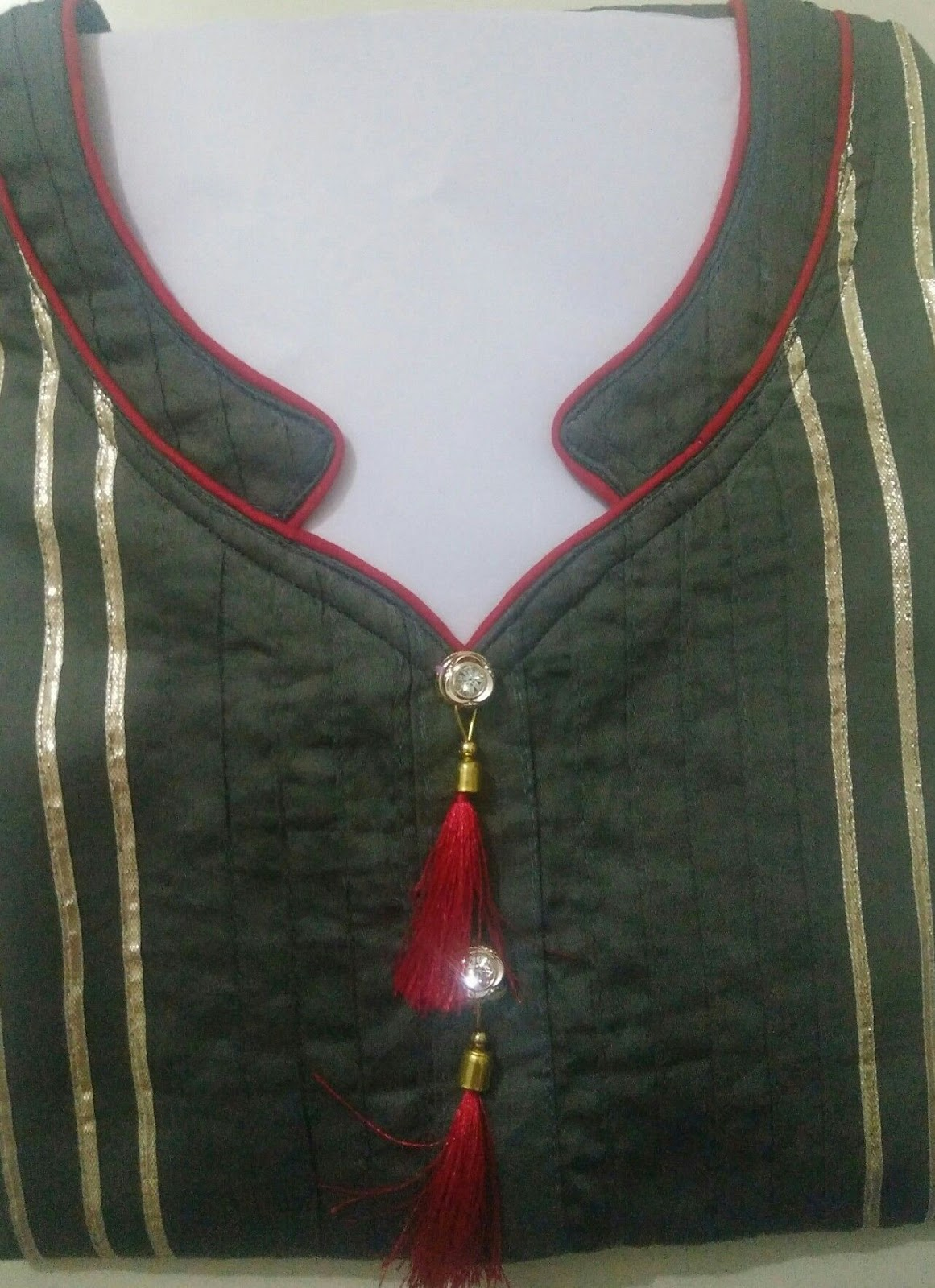 Latest Churidar Neck Models Salwar Patterns (230)