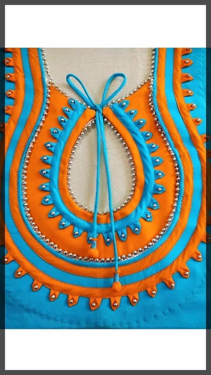 Latest Churidar Neck Models Salwar Patterns (234)