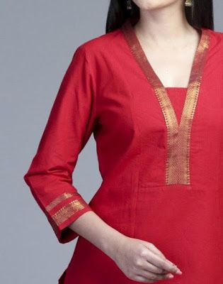 Latest Churidar Neck Models Salwar Patterns (238)